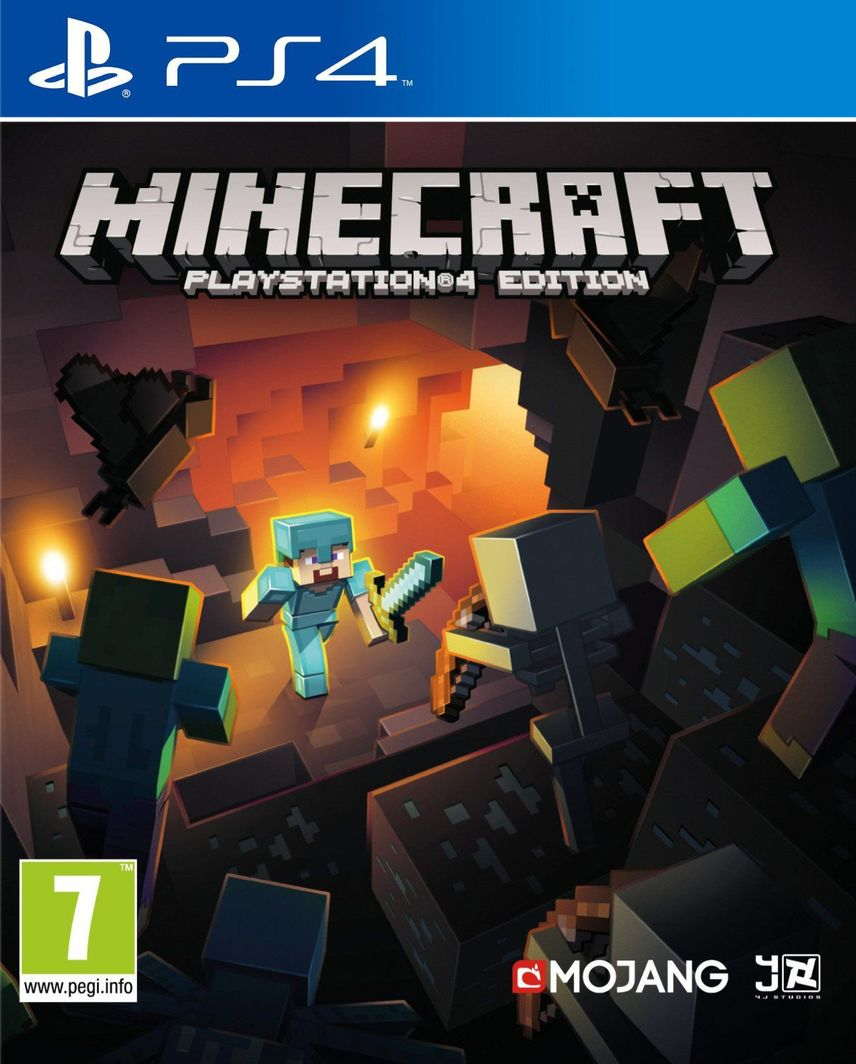 Minecraft PL PS4 1