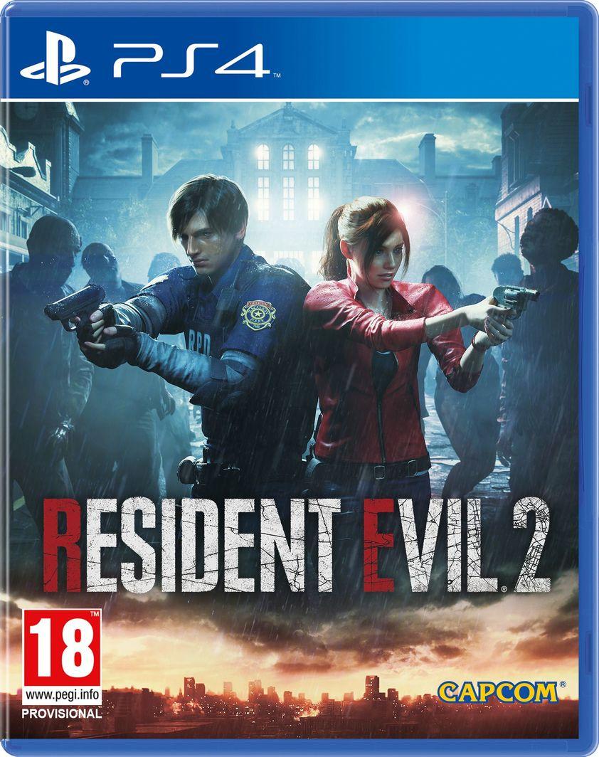 Resident Evil 2 PS4 1