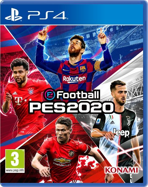 eFootball PES 2020 PS4 1