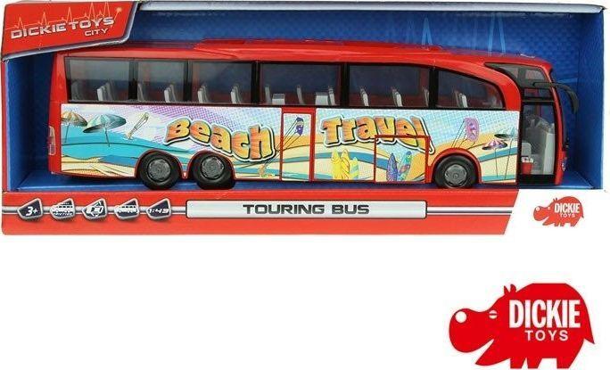 Dickie DICKIE Autobus turystyczny Beach Travel Bus Czerwony 1