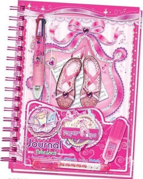 Pecoware Kreatywny zeszyt Baletnica pamiętnik + długopis 1