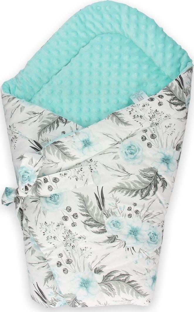 Lufcik Dwustronny rożek niemowlęcy Garden Mint 1
