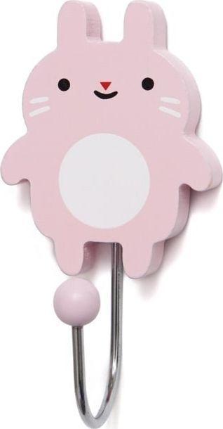 Petit Monkey Petit Monkey - Wieszak Little Bunny - blush 1