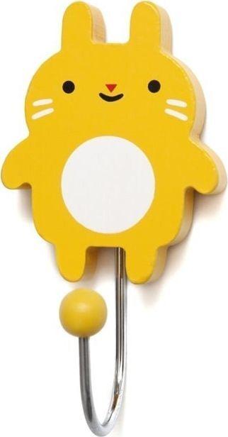 Petit Monkey Petit Monkey - Wieszak Little Bunny - mustard 1