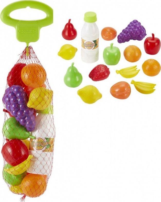 Ecoiffier Zestaw produktów spożywczych - owoce - Ecoiffier 1