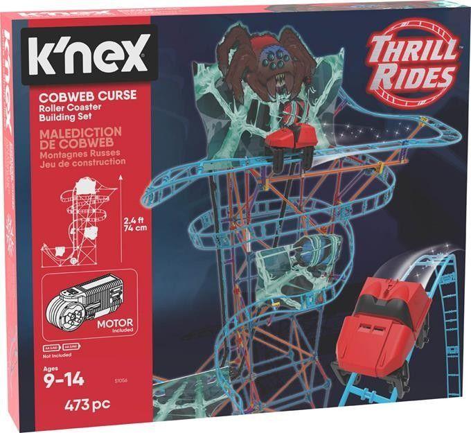 Knex KNex Pajęcza klątwa kolejka górska - zestaw konstrukcyjny 1