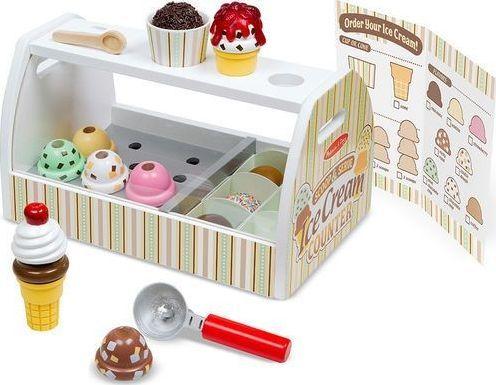 Melissa & Doug Lodziarnia - zabawka sklep z lodami 1