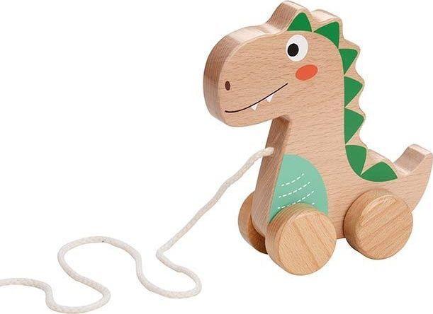 Lelin Dinozaur na sznurku do ciągnięcia 1