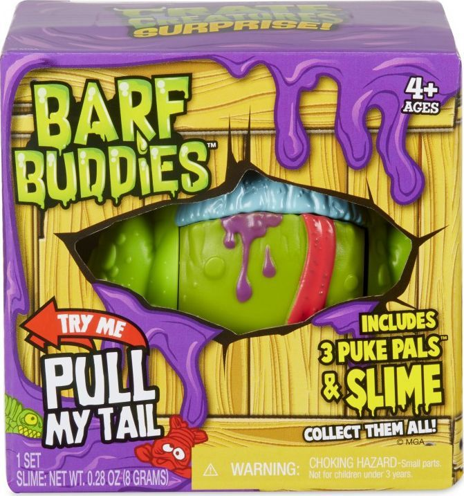 MGA Crate Creatures Surprise - Barf Buddies -Figurka Gulp 1
