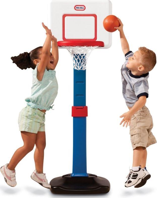 Little Tikes Koszykówka składana Kosz Square 76-121cm 1
