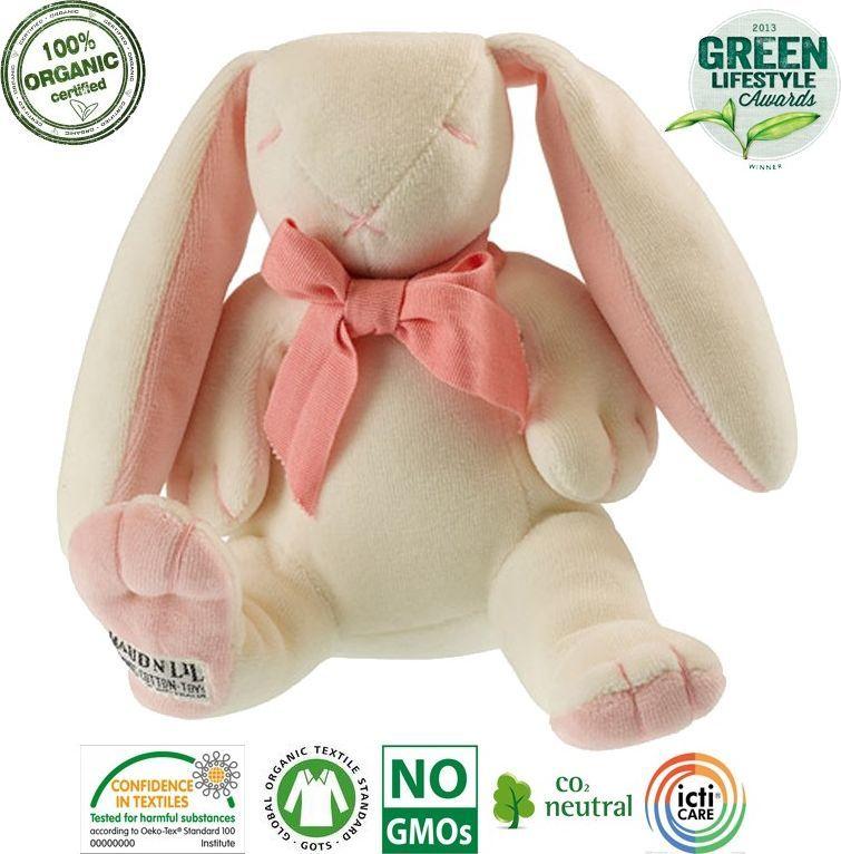 Maud N Lil Maud N Lil Rose the Bunny Soft Organiczny Mięciutki Przyjaciel 1