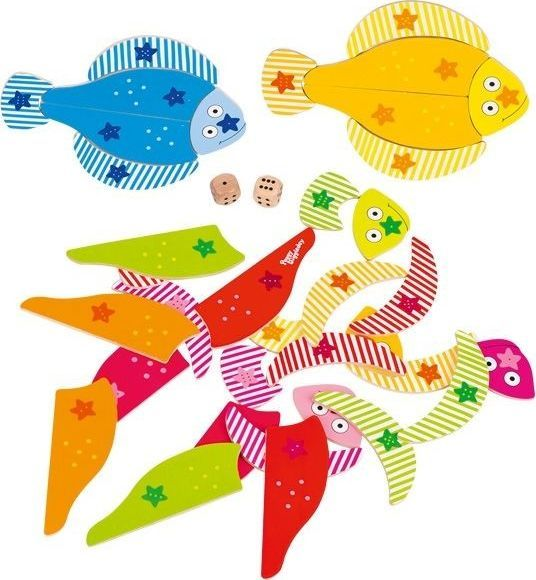 Peggy Diggledey Gra Wesołe rybki 1