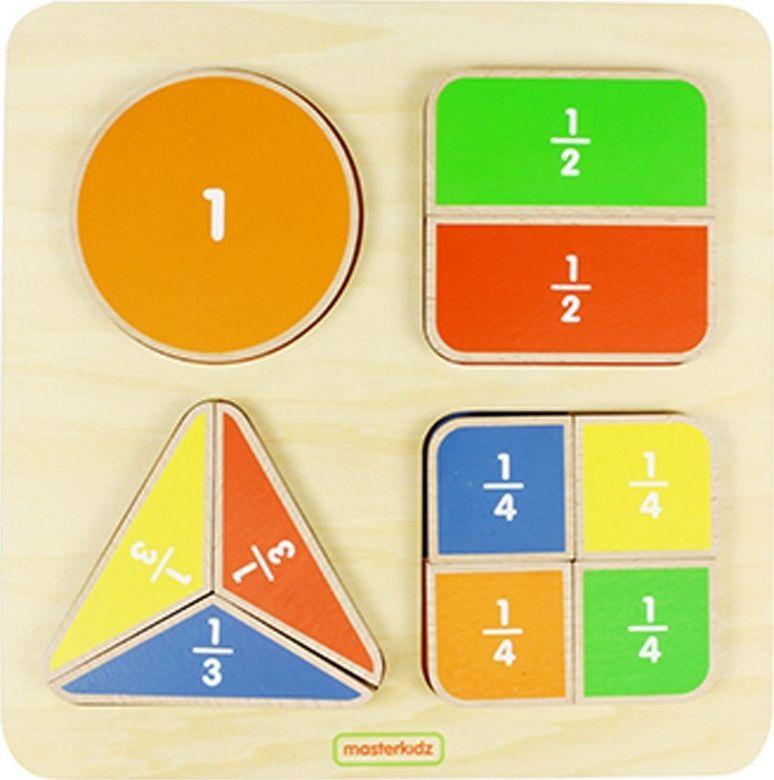 Masterkidz Matematyczna Tabliczka Edukacyjna Dzielenie Ułamki Masterkidz 1