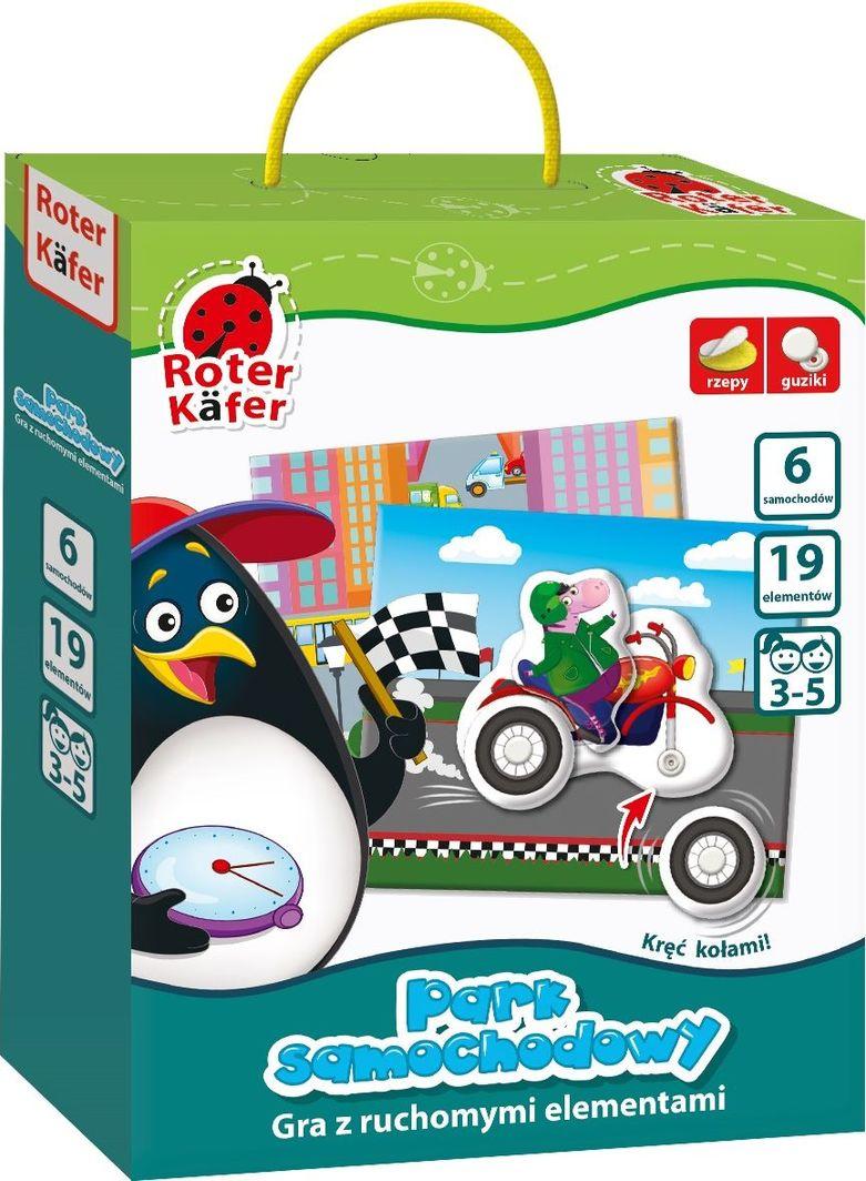 Roter Kafer Gra z ruchomymi elementami park samochodowy (GRK1040-06) 1