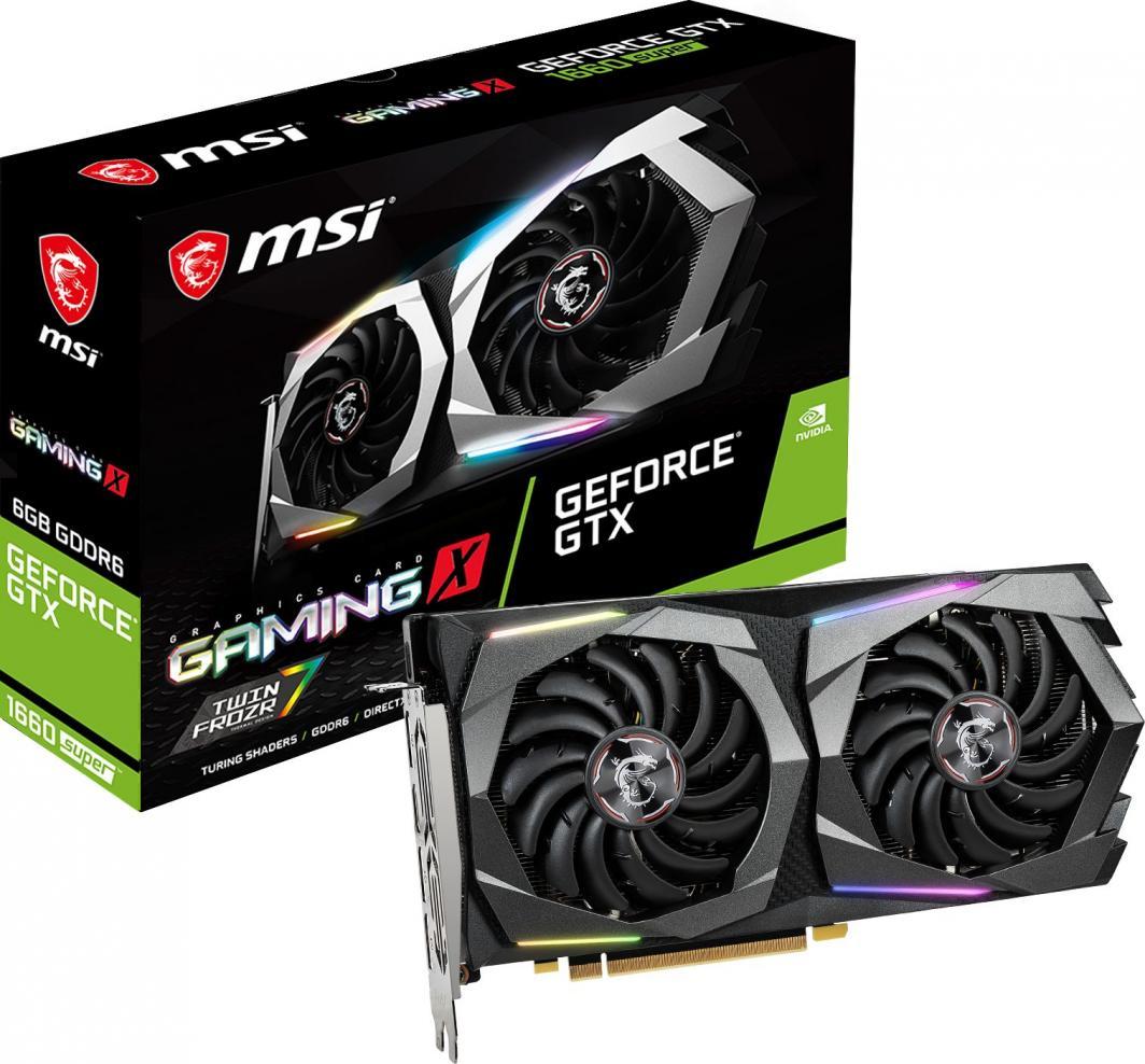 Karta graficzna MSI GeForce GTX 1660 SUPER Gaming X 6GB GDDR6 (GTX 1660 SUPER GAMING X) 1