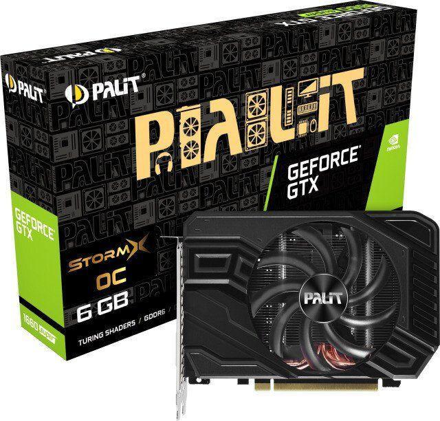 Karta graficzna Palit GeForce GTX 1660 SUPER StormX OC 6GB GDDR6 (NE6166SS18J9-161F) 1