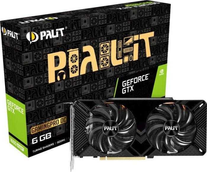 Karta graficzna Palit GeForce GTX 1660 SUPER GamingPro OC 6GB GDDR6 (NE6166SS18J9-1160A) 1