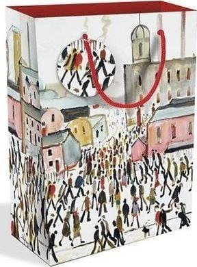 Museums & Galleries Torebka ozdobna duża Going to work 1