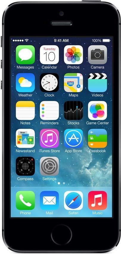 Smartfon Apple 16 GB Szary  (ME432LP/A) 1