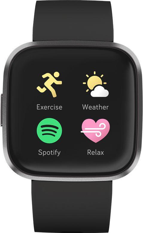Smartwatch Fitbit Versa 2 Czarny  (40-41-4069) 1