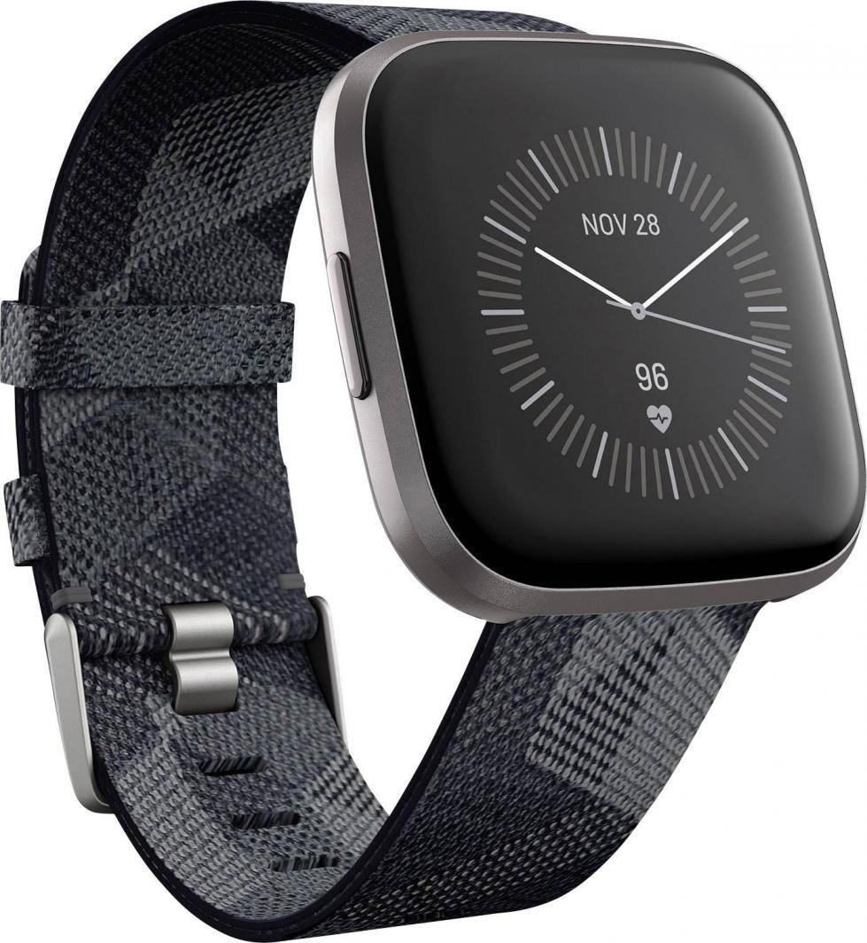 Smartwatch Fitbit Versa 2 Special Edition Czarno-szary  (FB507GYGY) 1