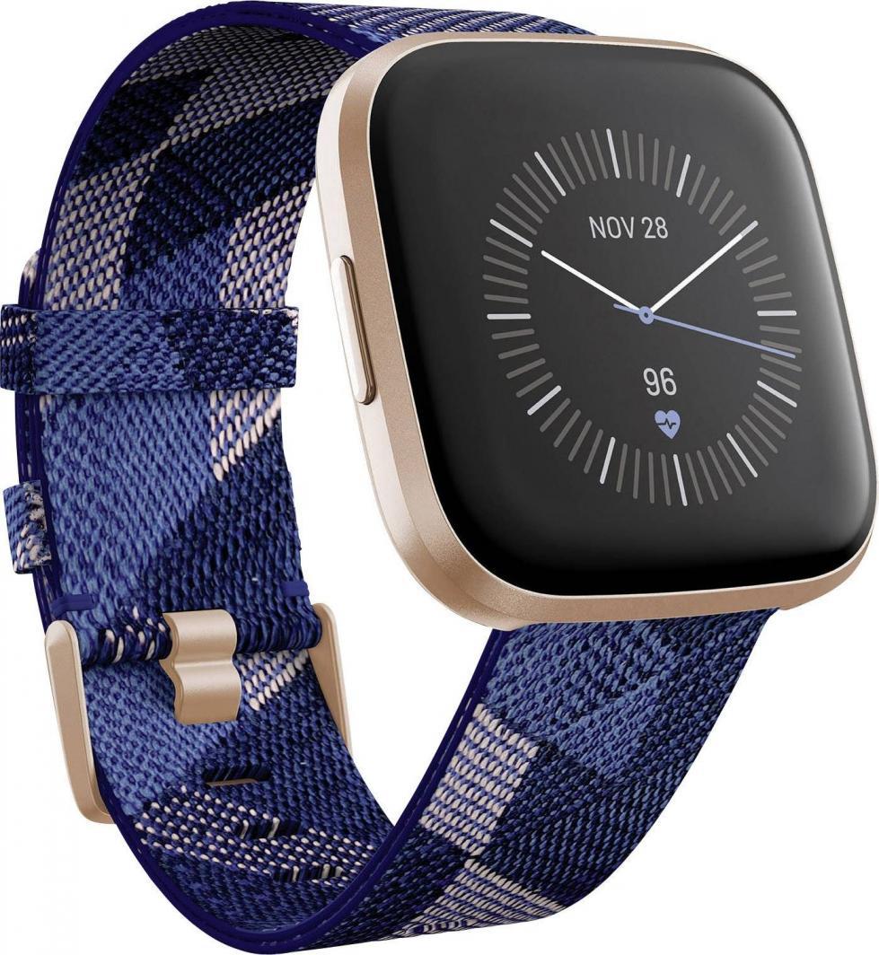 Smartwatch Fitbit Versa 2 Special Edition Niebiesko-różowy  (FB507RGNV) 1
