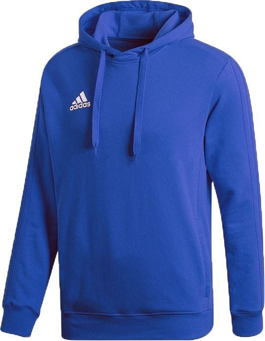 Adidas Bluza męska Tiro 17 Hoodie niebieska r. S (BP6100) ID produktu: 6318280
