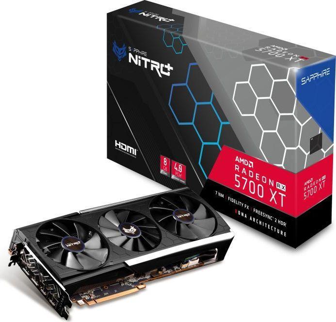 Karta graficzna Sapphire Radeon RX 5700 XT Nitro+ 8GB GDDR6 (11293-03-40G) 1