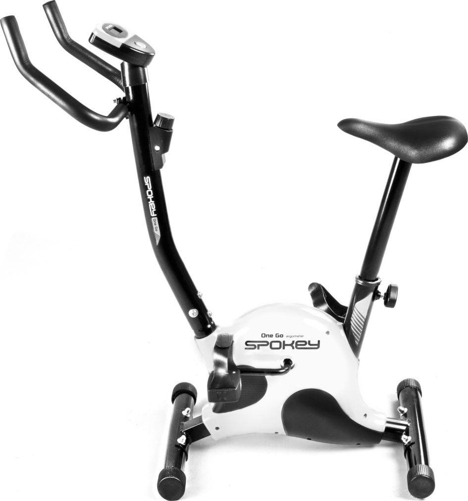 Spokey Rower treningowy Onego czarno-biały 1