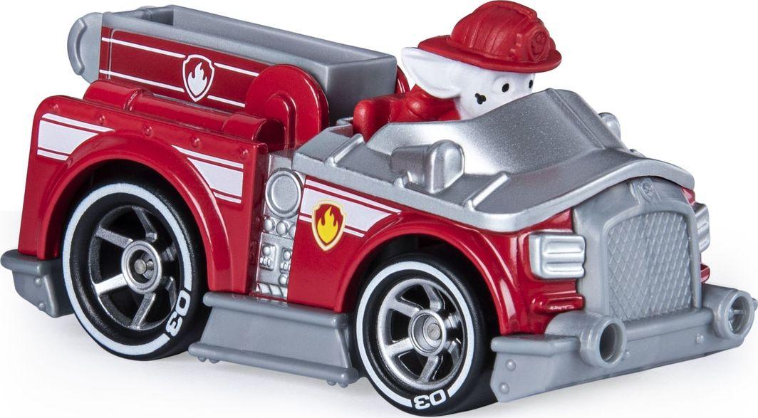 Spin Master Psi Patrol Marshall wóz strażacki samochodzik metalowy 1