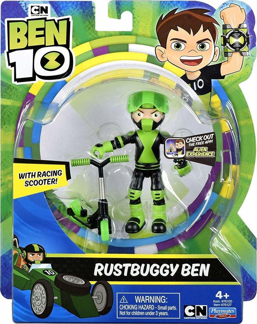 Giochi preziosi Ben 10 Rustbuggy figurka Ben na hulajnodze 1