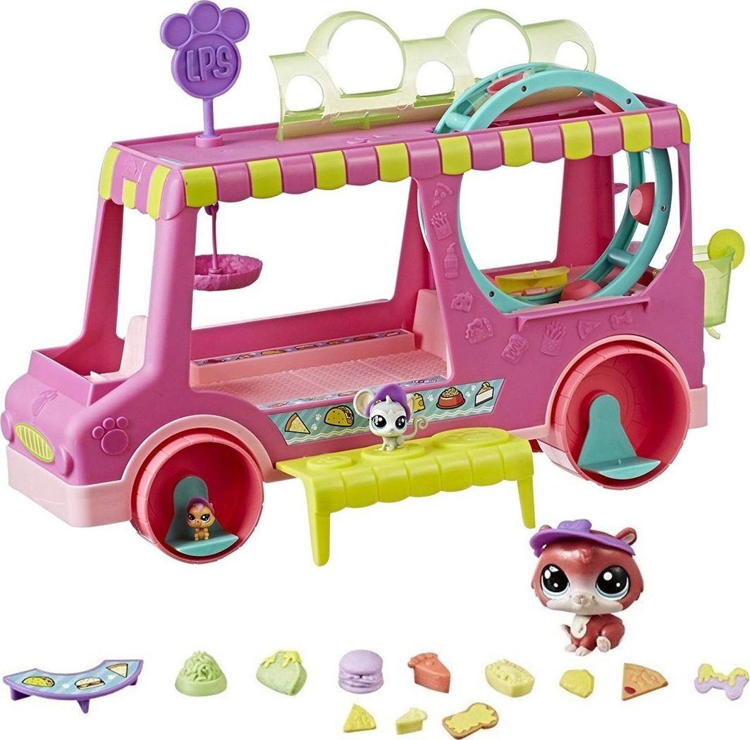 Hasbro Littles Pet Shop Food Truck Zwierzaków 1