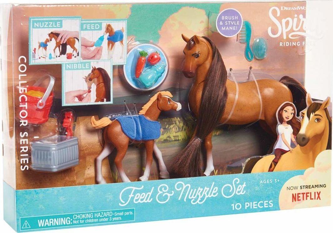 Just Play Spirit Mustang Duch Wolności Zestaw 2 konie i akcesoria 1