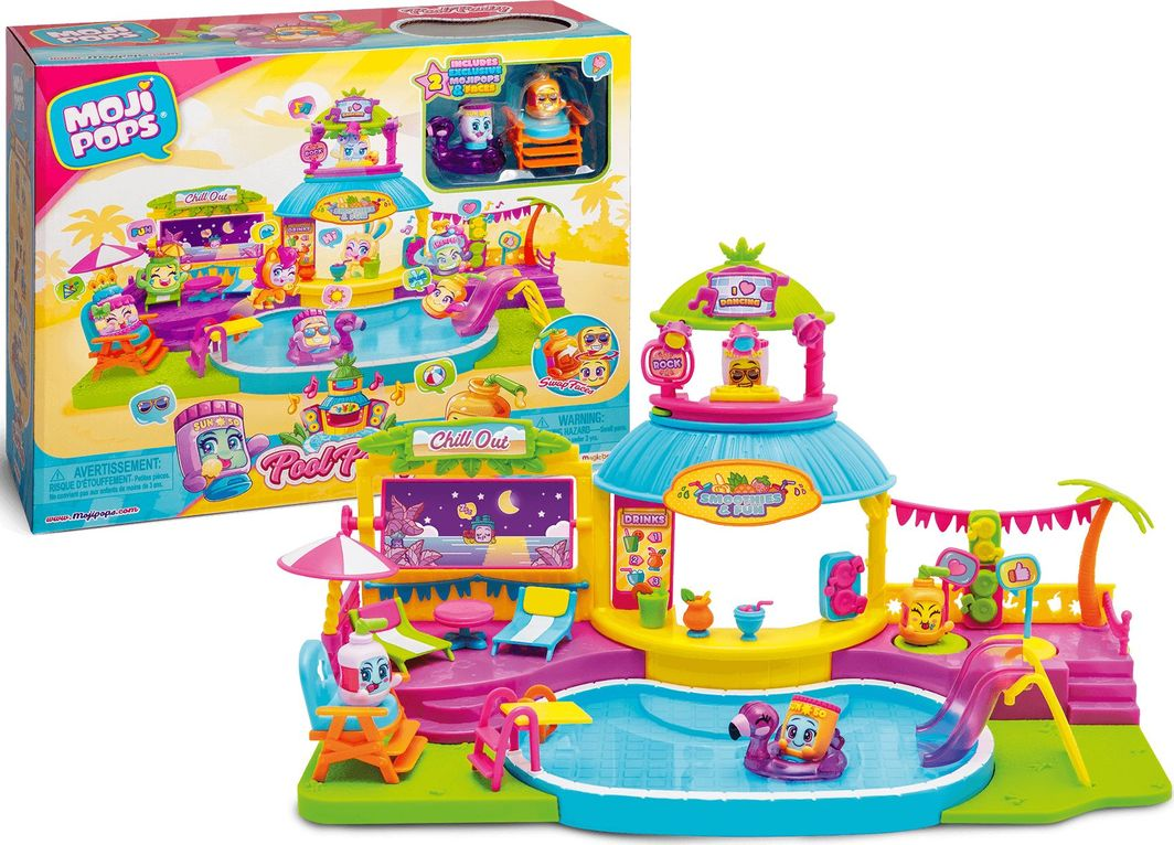 Magic Box MojiPops Impreza na basenie 1