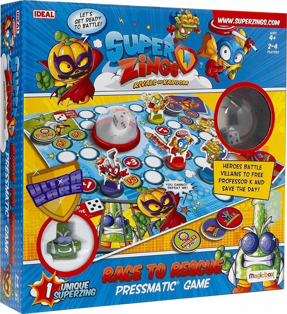 Magic Box Gra planszowa Super Zings Race to Rescue Superzings 1