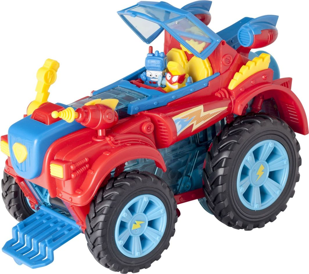 Magic Box SuperZings Pojazd bohaterów Monster Roller i 2 figurki 1