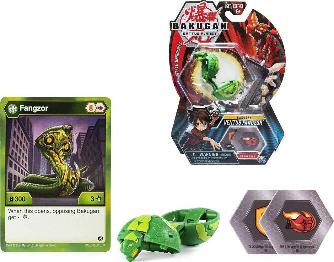 Spin Master Bakugan Ventus Fangzor figurka podstawowa 1