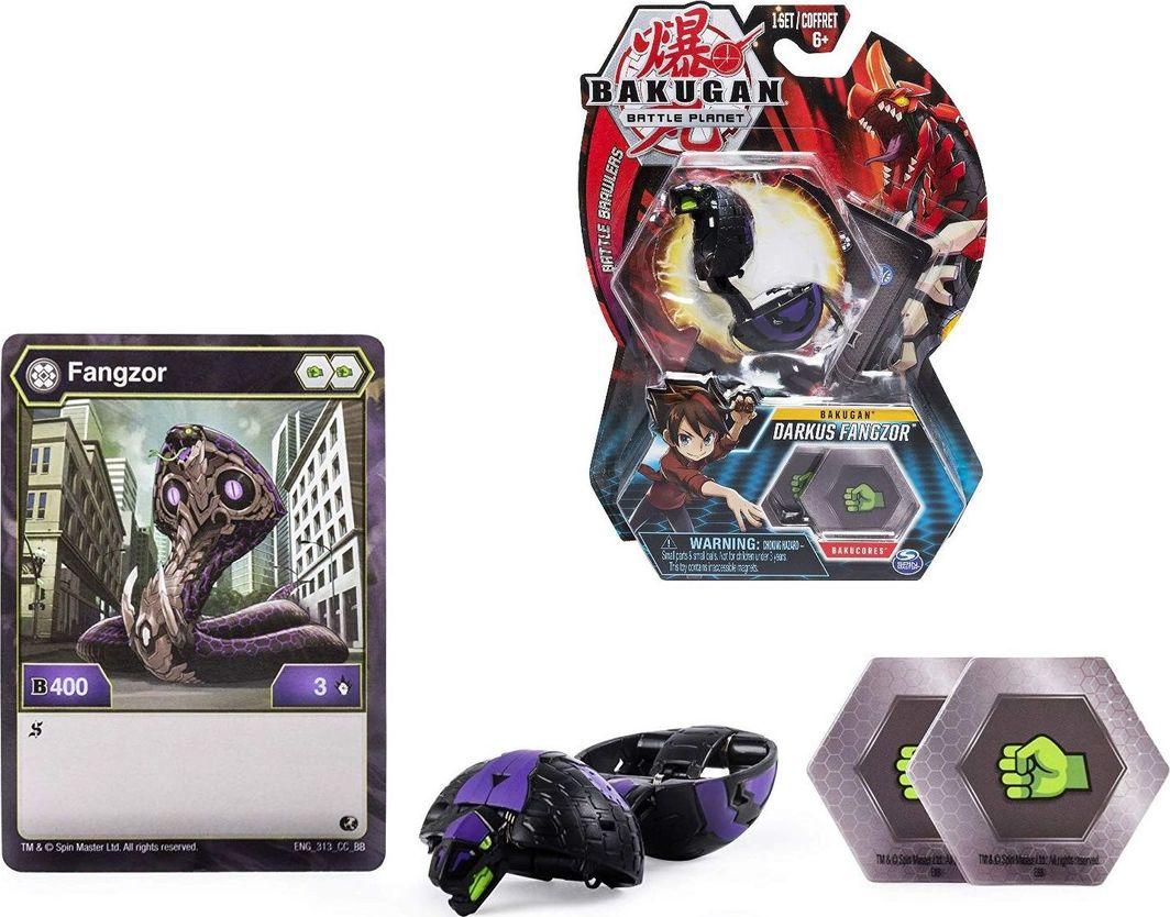 Spin Master Bakugan Darkus Fangzor figurka podstawowa 1