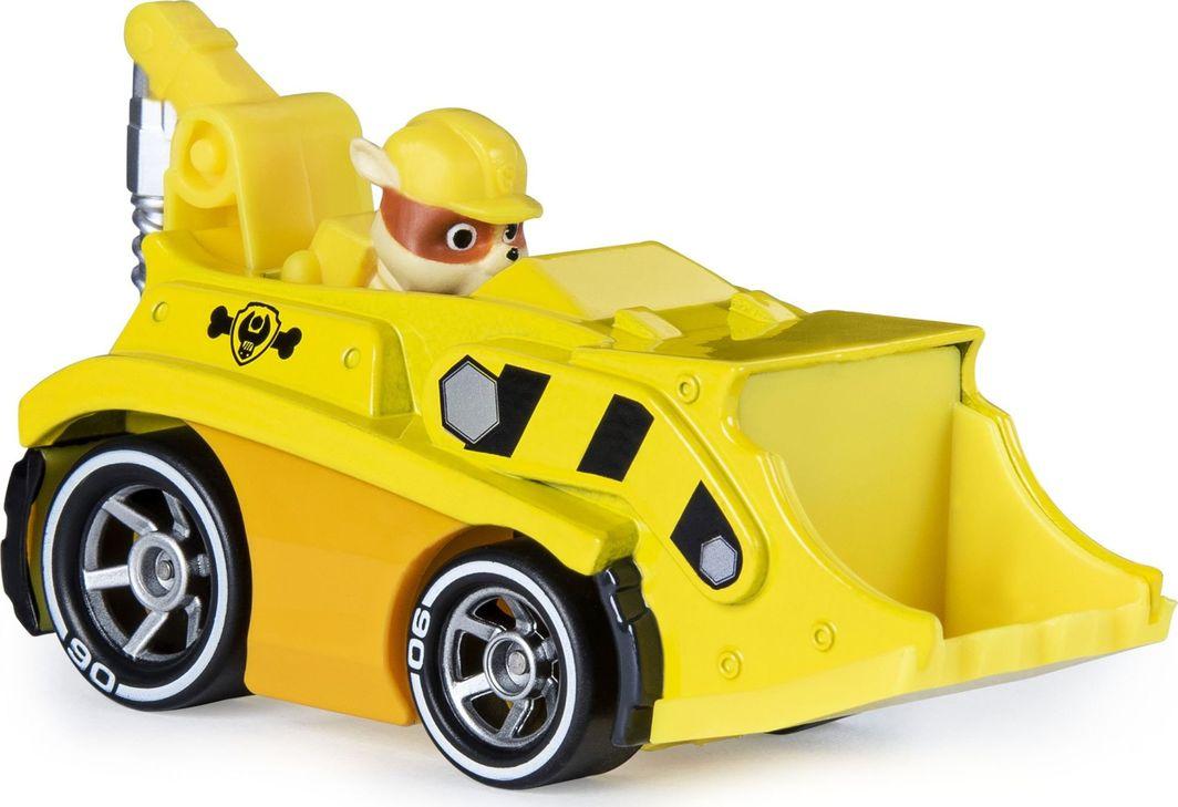 Spin Master Psi Patrol Rubble buldożer spychacz pojazd metalowy 1