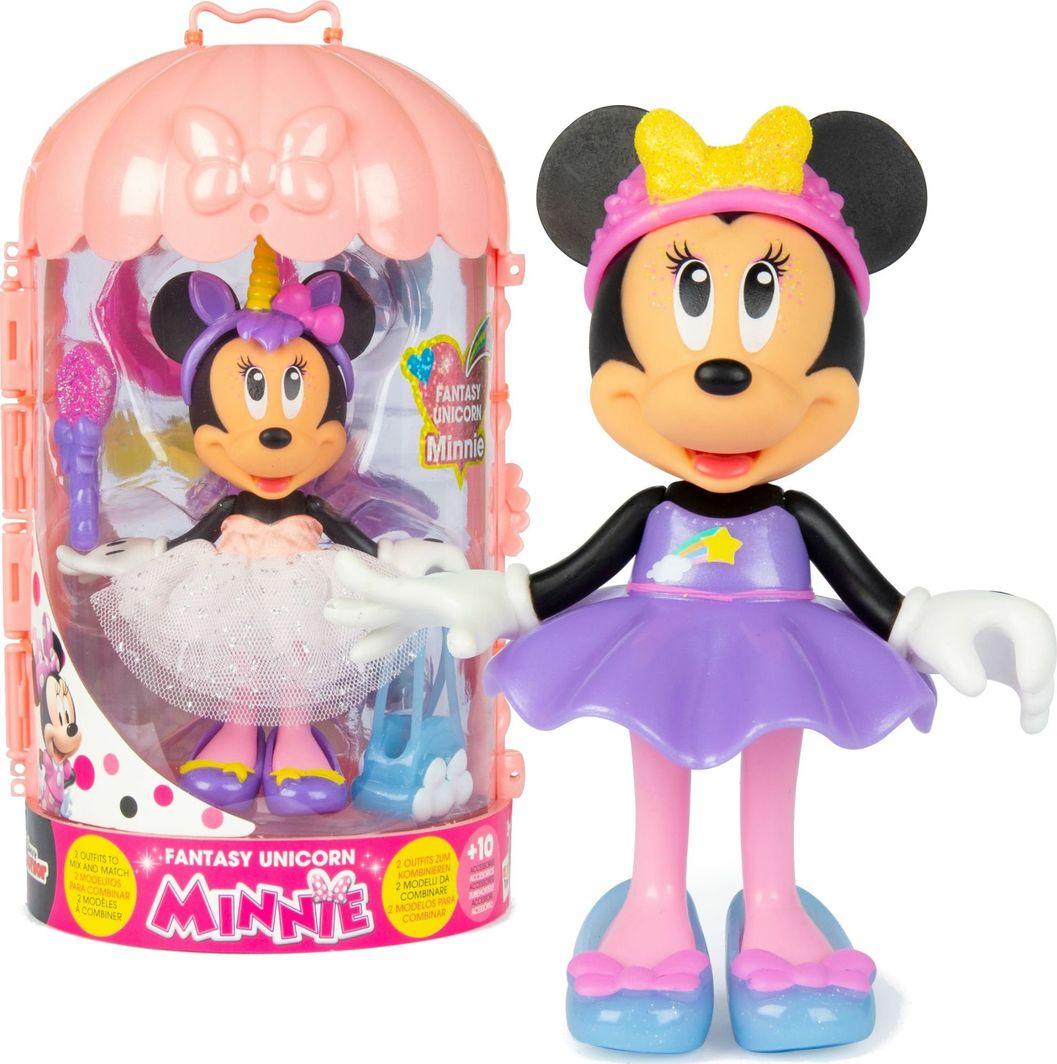 Imc Disney Myszka Minnie Lalka Fantasy Jednorożec 1