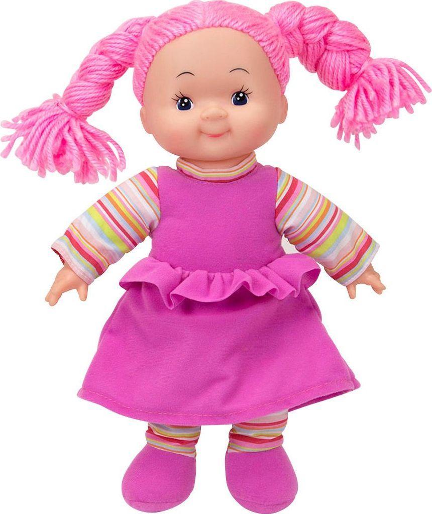 Simba Lalka Dolly Szmaciana Pyzata Buzia Różowa 1