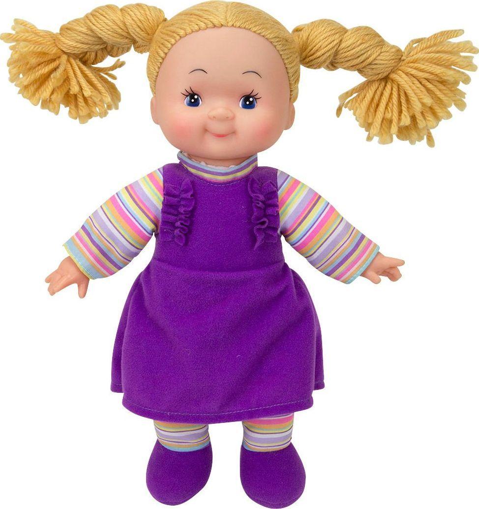 Simba Lalka Dolly Szmaciana Pyzata Buzia Fioletowa 1