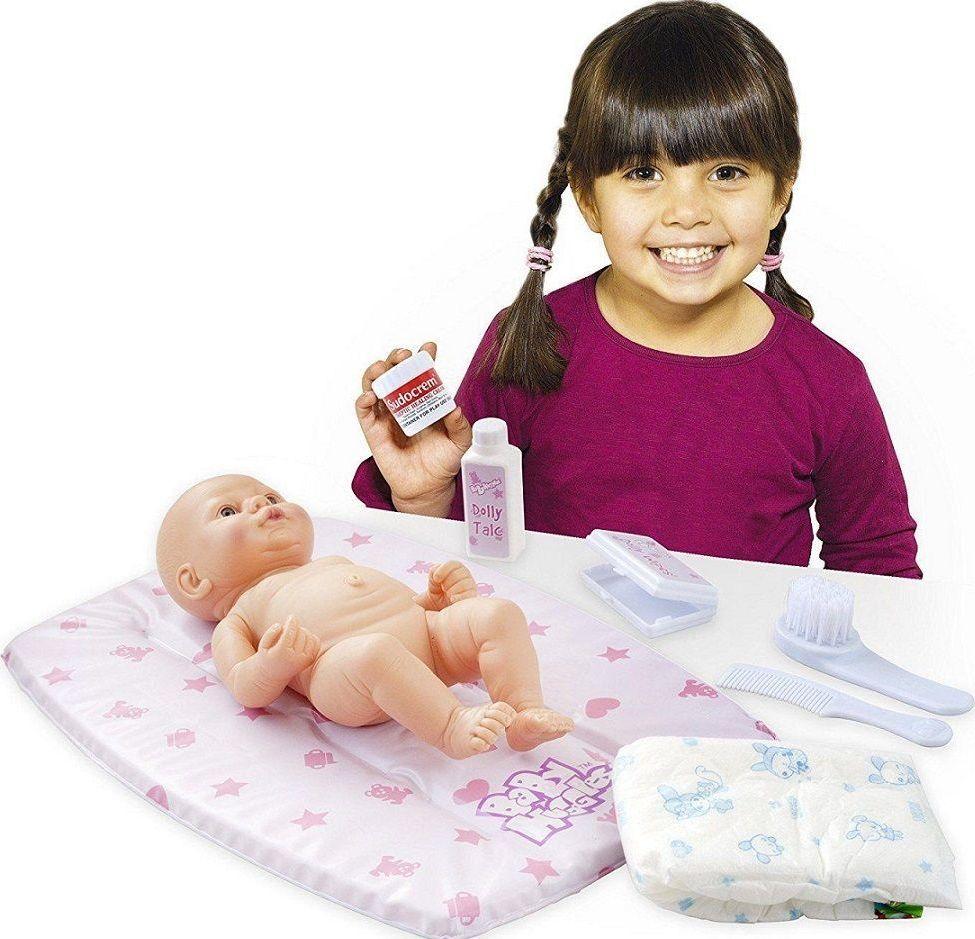 Casdon Zestaw z pieluszką i matą do przewijania lalek dla dzieci 1