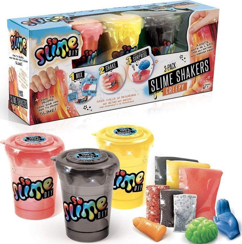 Canal Toys Canal Toys So Slime Zrób to sam Creepy 3 kolory uniwersalny 1