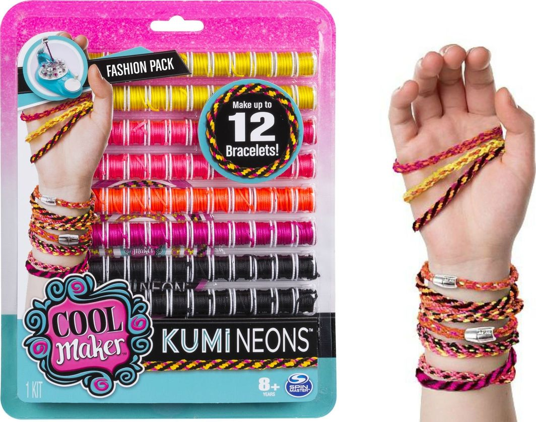 Spin Master Spin Master Cool Maker Kumi Neons zestaw uzupełniający uniwersalny 1