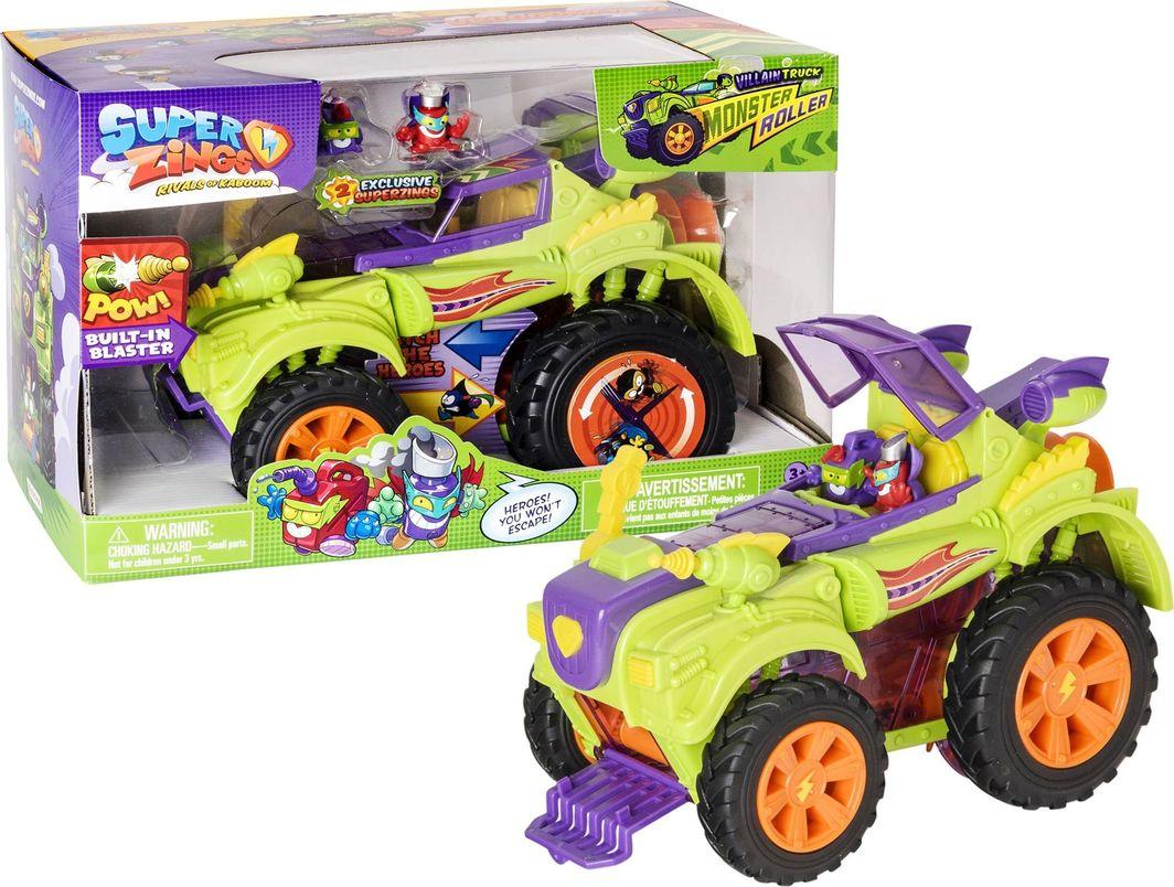 Magic Box Super Zings Pojazd złoczyńców Monster Roller i 2 figurki 1