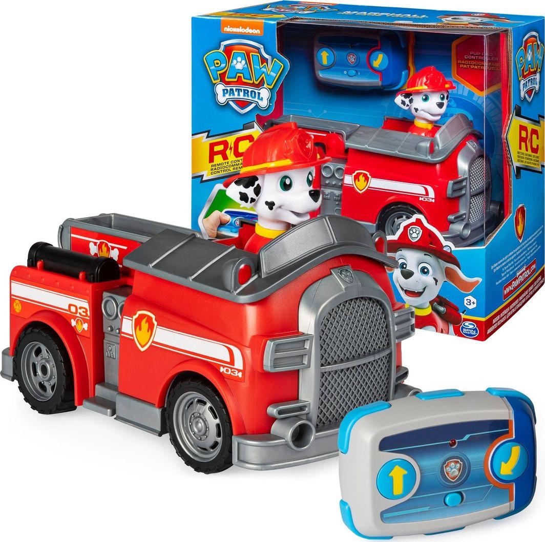 Spin Master Spin Master Psi Patrol zdalnie sterowany Wóz strażacki Marshall + pilot uniwersalny ID produktu: 6320532
