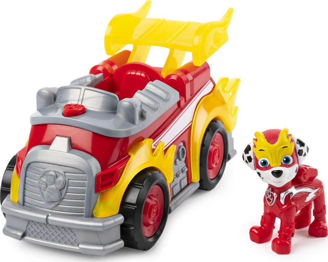 Spin Master Psi Patrol Wóz strażacki Deluxe Marshall światło i dźwięk 1