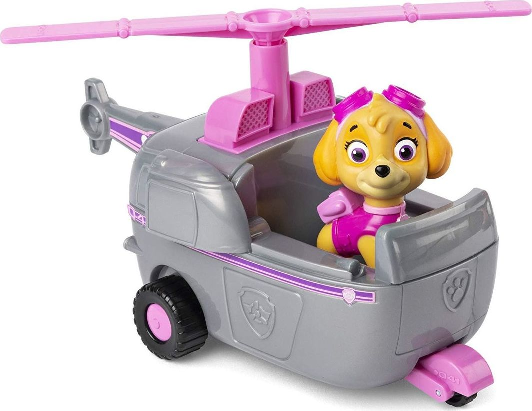 Spin Master Spin Master Psi Patrol Zestaw Helikopter i figurka Skye uniwersalny 1