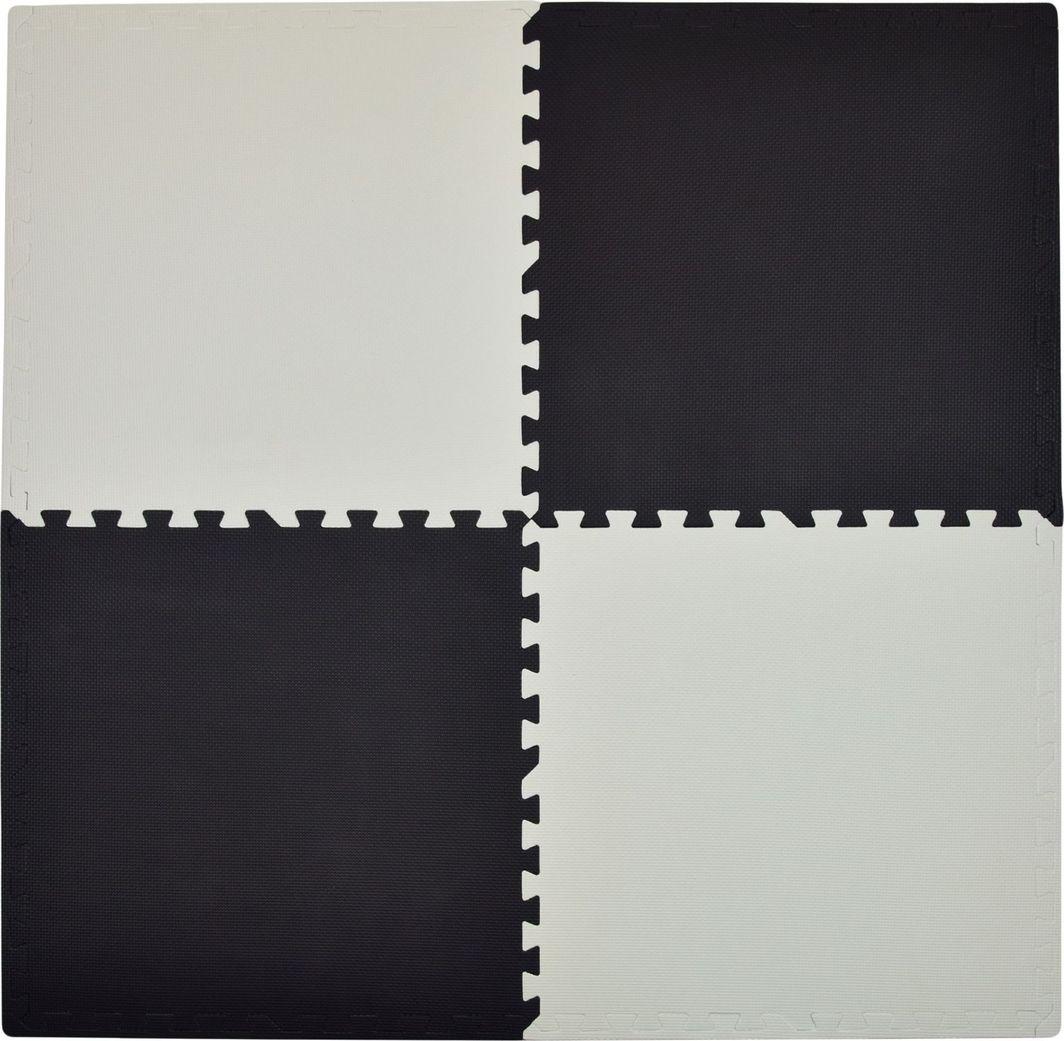 Humbi Humbi Puzzle piankowe Mata piankowa 62x62x1 cm 4 szt. kontrastowa Biało - Czarna uniwersalny 1